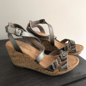 Minnetonka wedge Sandals